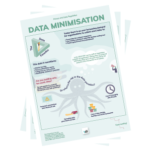 Data minimisation Infographic thumbnail